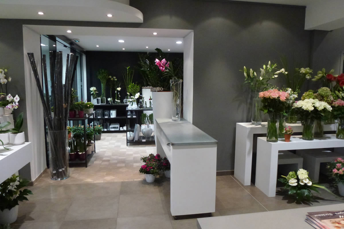Photos de commerce de fleurs for Boutique decoration interieur