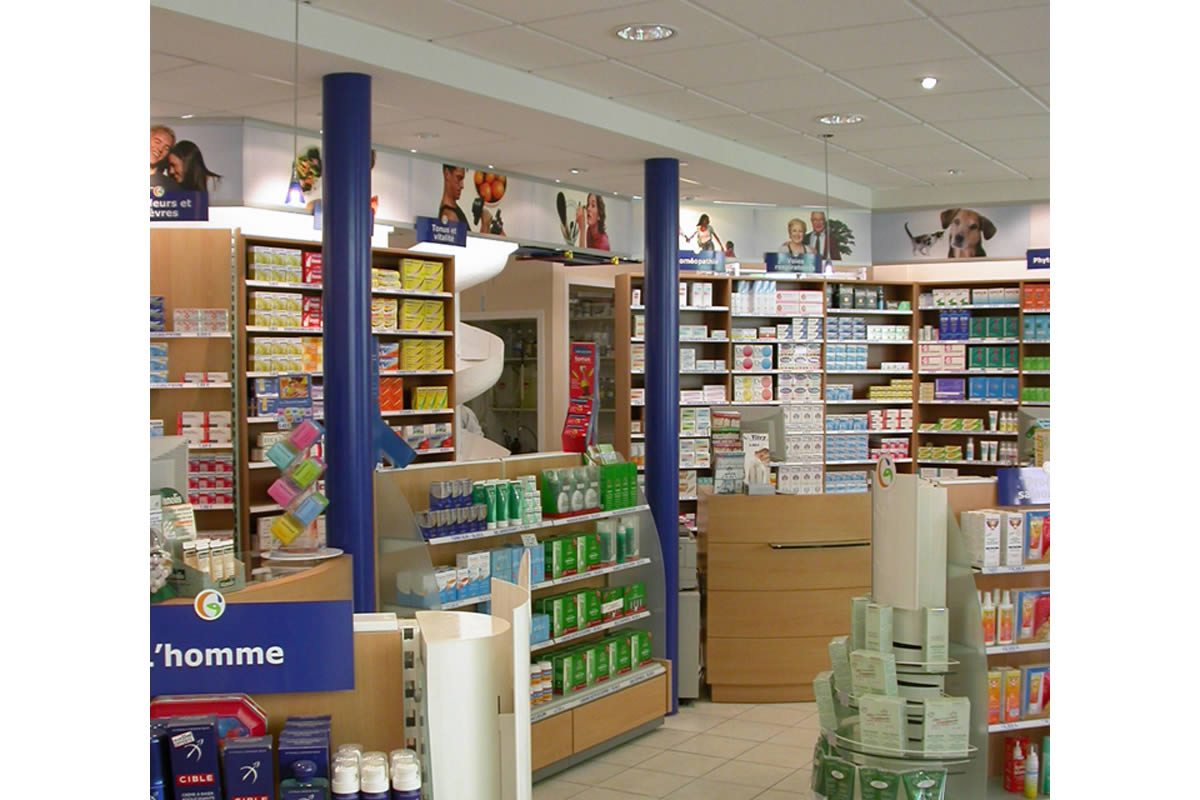 extension de commerce cholet pharmacie yves cl ment. Black Bedroom Furniture Sets. Home Design Ideas