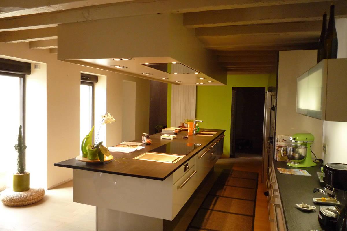 Cr ation de cuisine 49 yves cl ment d coration for Ambiance cuisine avoine