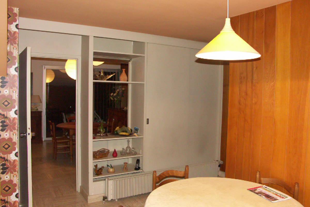 Cuisine Ouverte Sur S Jour Yves Cl Ment Architecte