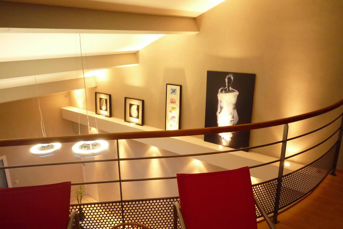 luminaire suspension mezzanine. Black Bedroom Furniture Sets. Home Design Ideas