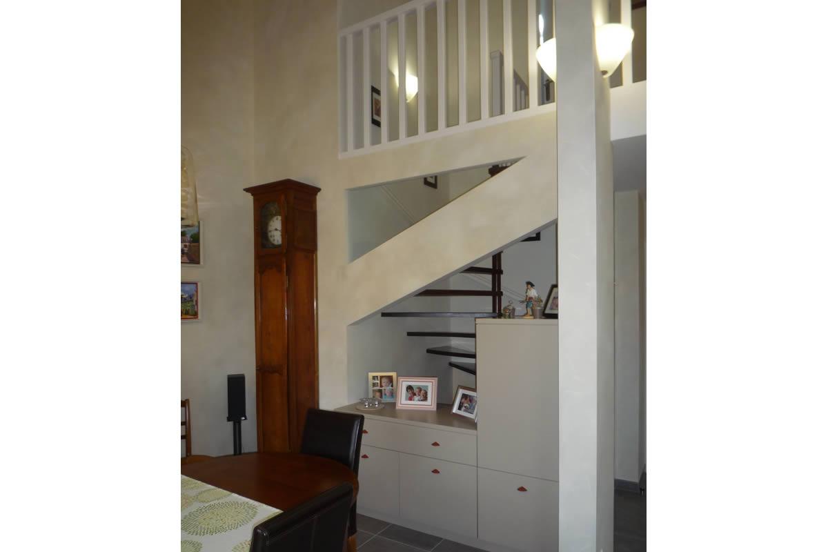 r novation de s jour mezzanine cholet yves cl ment architecte int rieur cholet 49. Black Bedroom Furniture Sets. Home Design Ideas