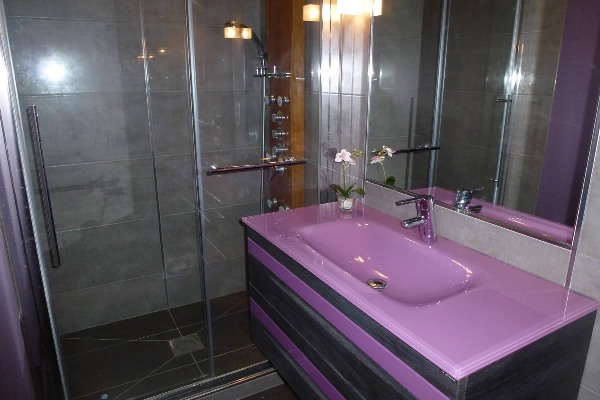 Salle de bain et salle d 39 eau dans petit espace yves for Salle de bain d architecte