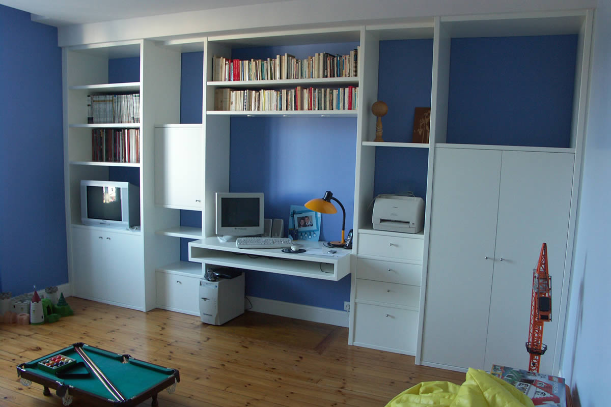 Am nagement de chambre de gar on cholet yves cl ment d corateur d 39 int - Amenagement chambre bureau ...