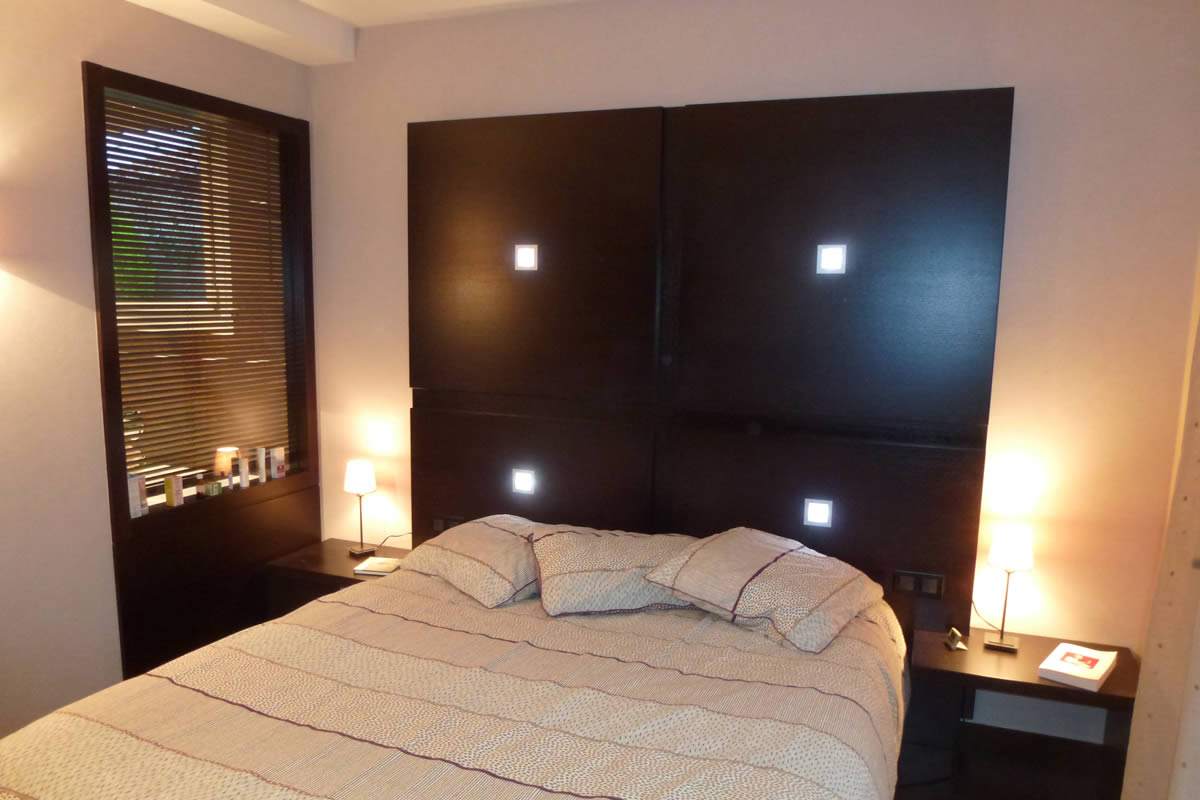 Suite parentale cholet yves cl ment architecte d for Chambre design suite parentale