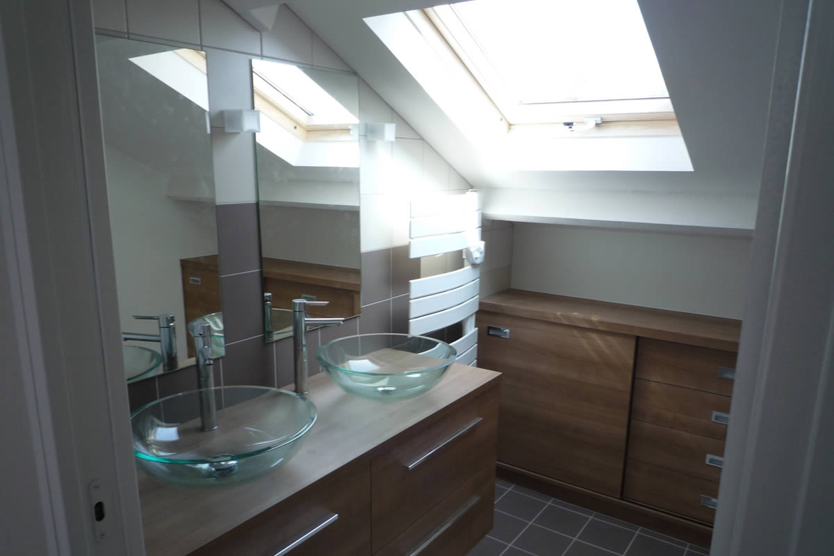 Architecture nantes yves cl ment architecte int rieur for Salle de bain dans suite parentale