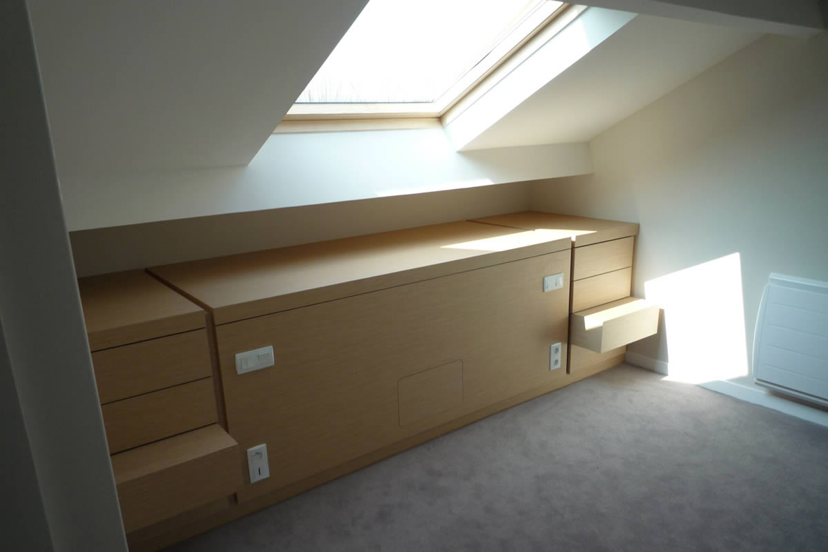 Architecture nantes yves cl ment architecte int rieur for Amenagement chambre parentale