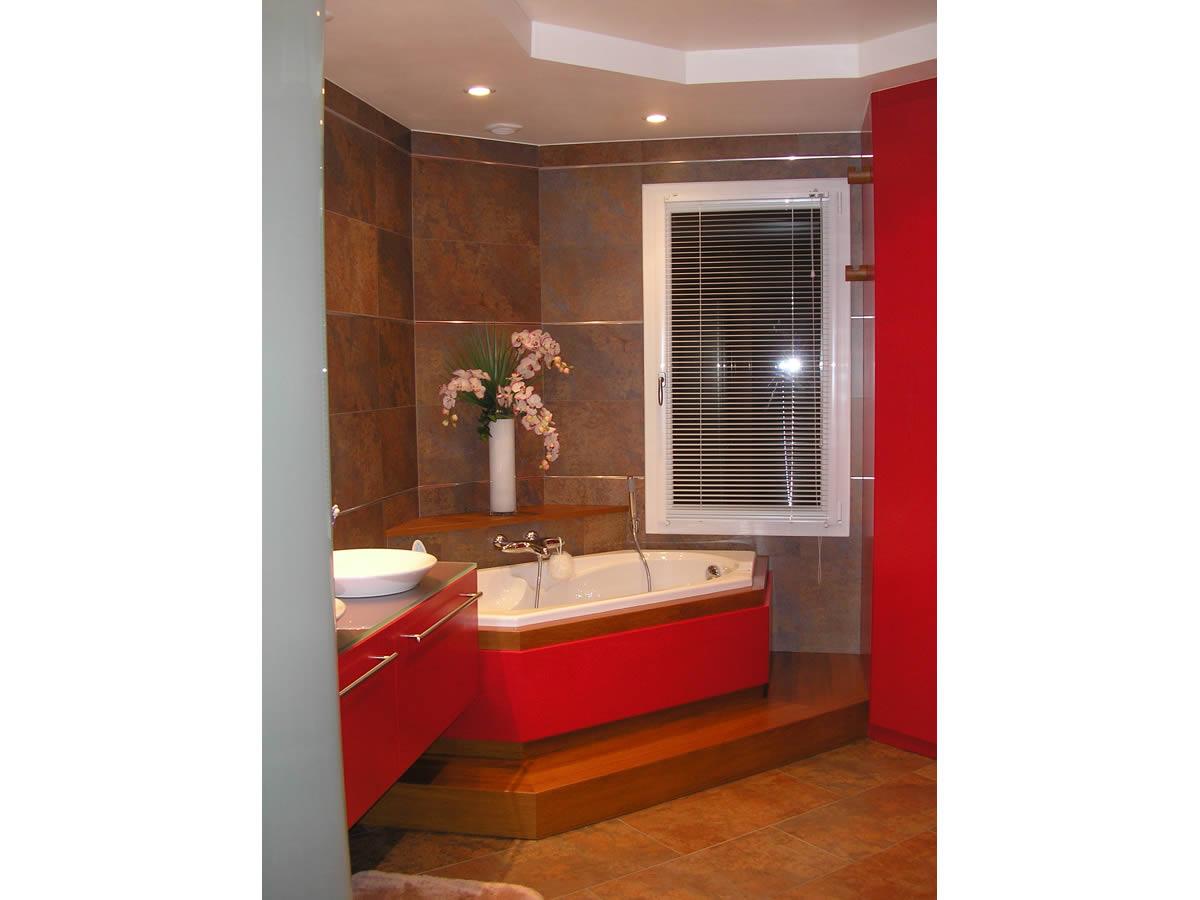 Architecture int rieure salle de bain cholet yves for Architecte interieur salle de bain