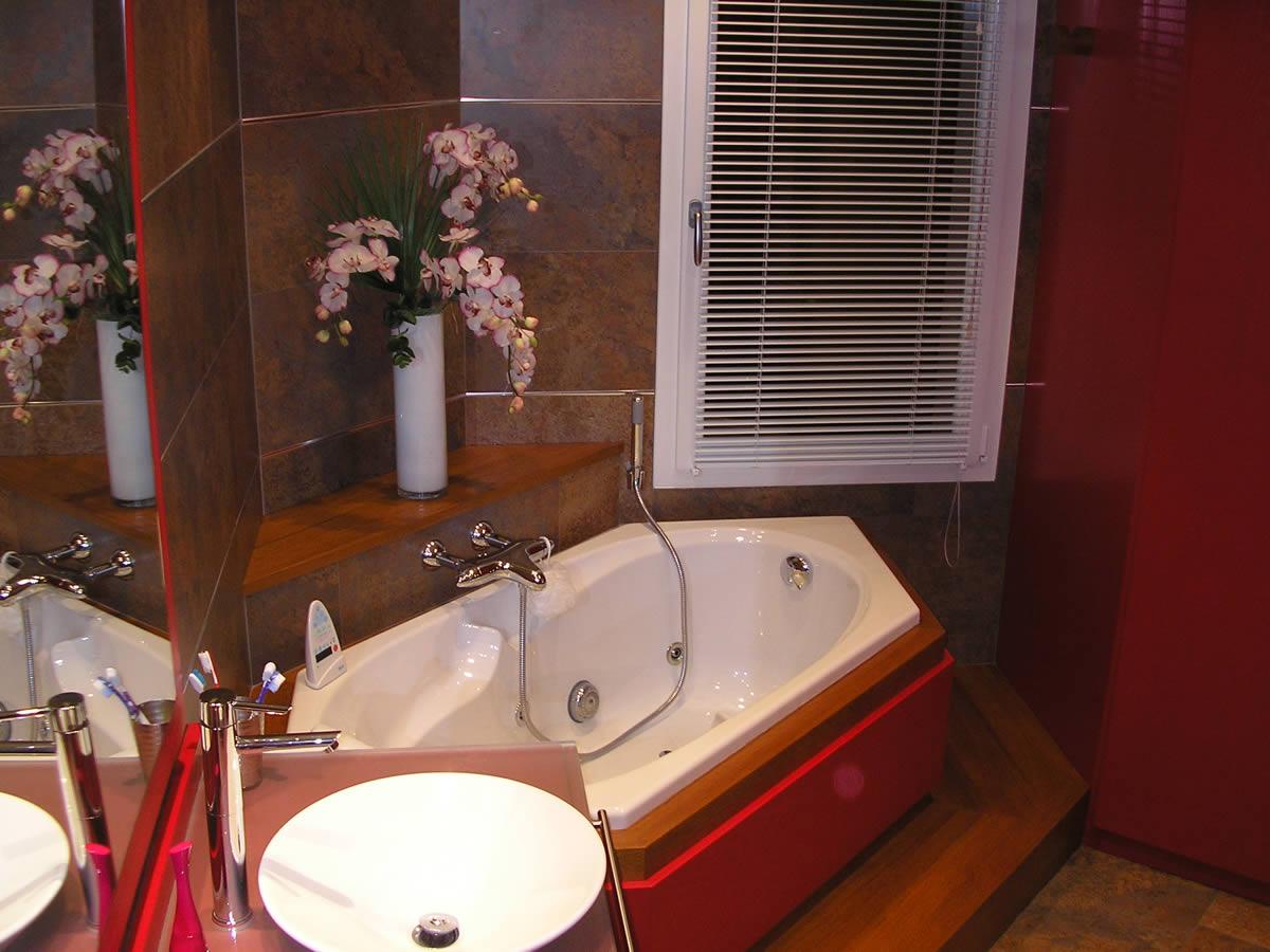 Architecture int rieure salle de bain cholet yves - Robinetterie jacob delafon salle de bain ...