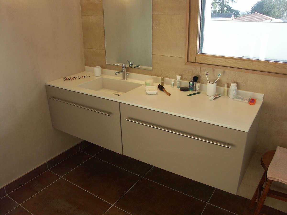 Cr ation int rieure salle de bain cholet yves cl ment for Architecte interieur salle de bain