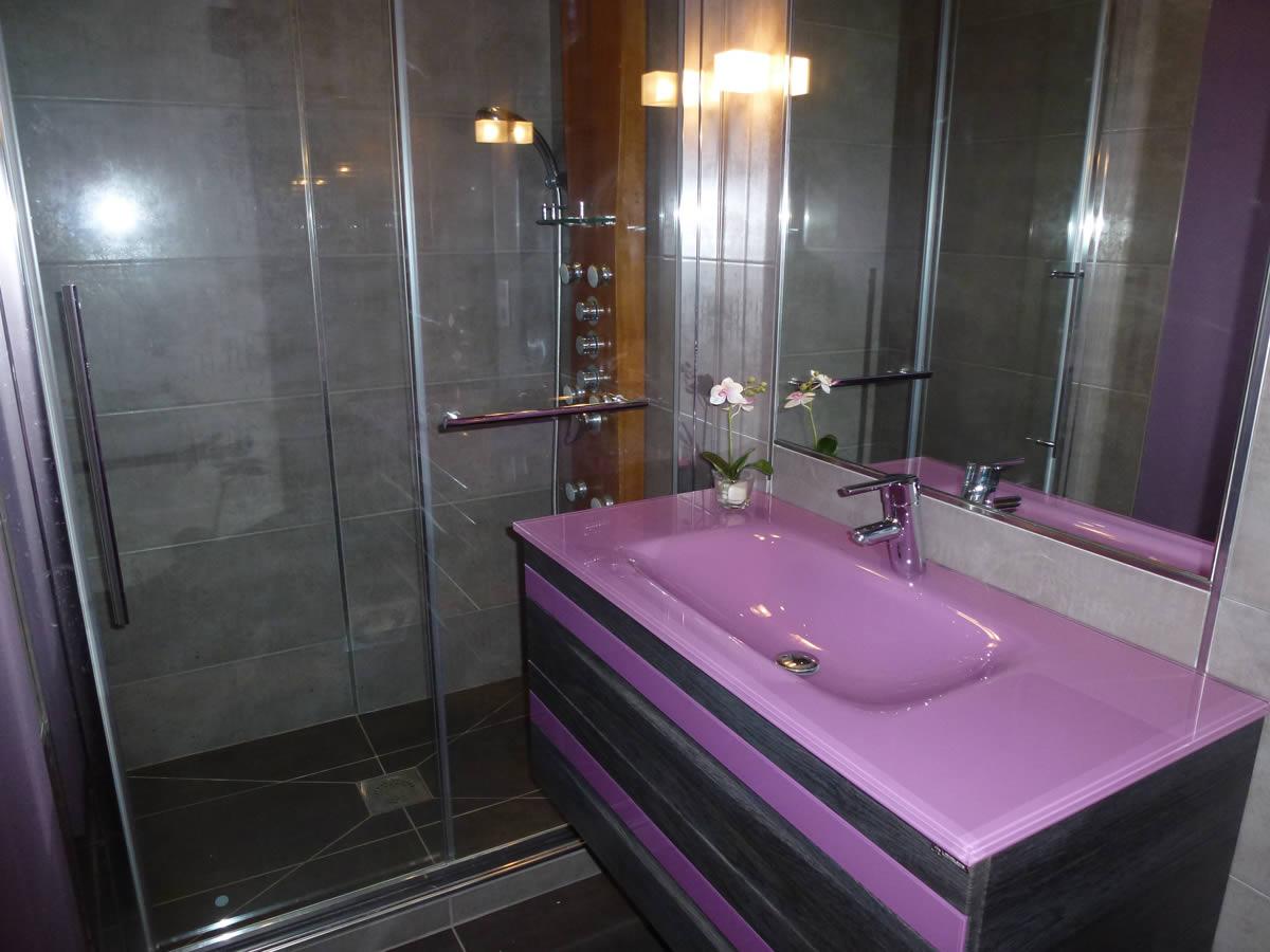 Salle de bain et salle d 39 eau dans petit espace yves for Salle de bain kitch