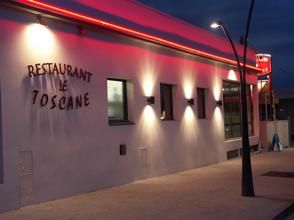 Décoration restaurant trélazé yves clément architecte